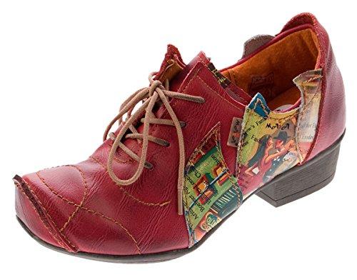 classica Donna TMA TMA Rosso Stringata Rosso classica Stringata TMA Donna xqUwFtO1