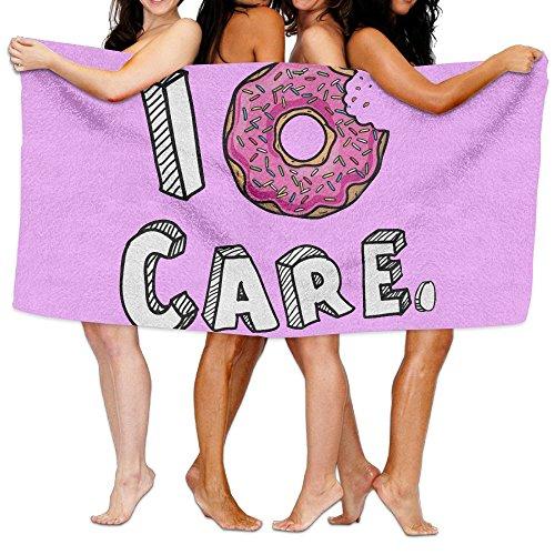 Wzfa I Donut Care Bath Towel Beach/Bath/Pool Towel 51.2