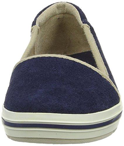 Timberland Casco Bay Ftw_ek Casco Bay Leather Slip On - Slip-On Mujer azul - Blau (BLUE)
