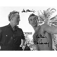 Limited Edition Sean Connery Ian Fleming James Bond unterzeichnet Foto Autogramm signiertsigniertes