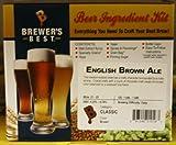 English Brown Ale Homebrew Beer Ingredient Kit by Brewer's Best