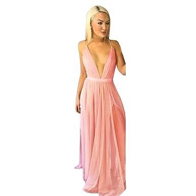 aafbee411807b BAO8 ドレス 無地ワンピース 袖なしドレス シフォン Vネック セクシー ロング丈スカート ミニスカート