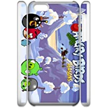 Angry Birds Seasons iPhone 6 4.7 Inch Cell Phone Case 3D White yyfD-167513