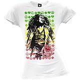 Bob Marley - One Love Label Juniors T-Shirt