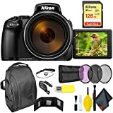 Cheap Nikon COOLPIX P1000 Digital Camera + 128GB Sandisk Extreme Memory Card Extreme Kit International Model