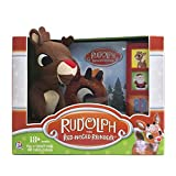 Rudolph the Red-Nosed Reindeer Board Sound Book and Plush Toy - PI Kids: more info
