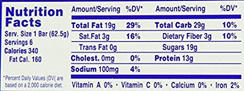 Lance, Peanut Bars, 6 - 2.2oz Packages, 13.2oz Total Per Tray (Pack of 12) by Lance (Image #3)