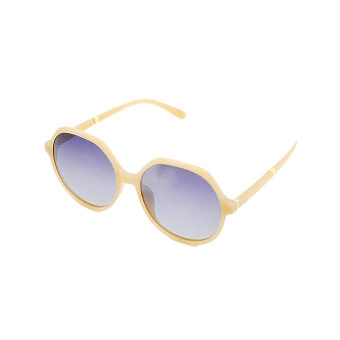 d9132102f6 Gafas De Sol Polarizadas Para Mujer Lente De Color Para Mujer Gafas Bloqueo  UV Lentes Sin Reflejos Espejo Clásico, LightBrown-OneSize: Amazon.es: Ropa  y ...
