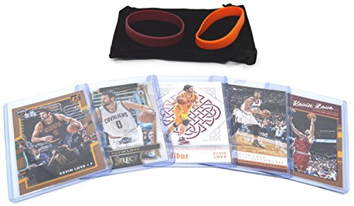 Kevin Love Basketball Cards Assorted (5) Bundle - Cleveland Cavaliers Trading Cards # 0