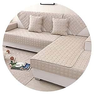 Amazon.com: Fundas de sofá y toallas de algodón para sofá o ...