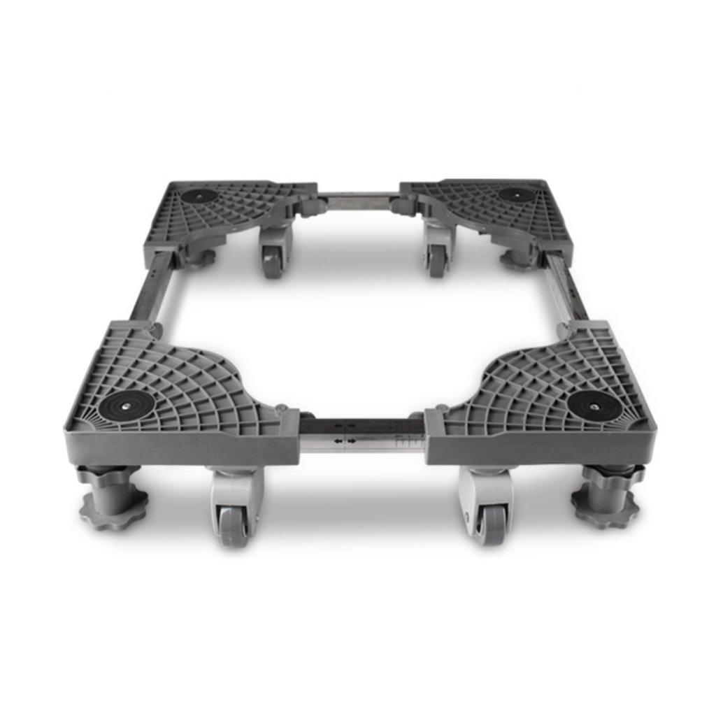 Increased Shelf AI Stainless Steel Refrigerator Bracket, Mobile Home Multi-Function Bracket at The Bottom, High Strength, Adjustable 45-63cmx45.63cmx8-16cm