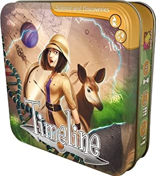 Timeline Discoveries Card Game: Amazon.es: Juguetes y juegos