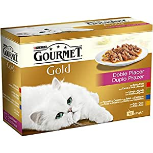 Purina Gourmet Gold Doble Placer comida para gatos Surtido