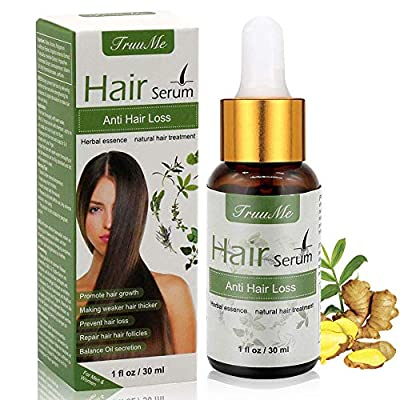 Hair Growth Serum, Anti-Hair Loss Serum, Hair Regrowth Oil, Stops Hair Loss, For Thinning Hair, Alopecia Areata, Promotes Thicker, Fuller ? Faster Growing