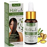 Hair Growth Serum, Anti-Hair Loss Serum, Hair Regrowth Oil, Stops Hair Loss, For Thinning Hair, Alopecia Areata, Promotes Thicker, Fuller & Faster Growing CIDBEST