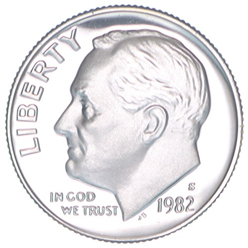 1982 S Proof Clad Roosevelt Dime PF1