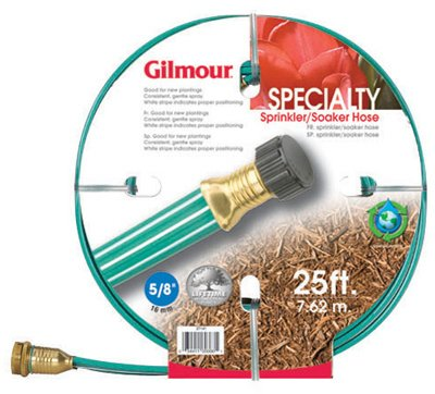 Gilmour Group 270141 25' Flat Three Tube Sprinkler/Soaker...