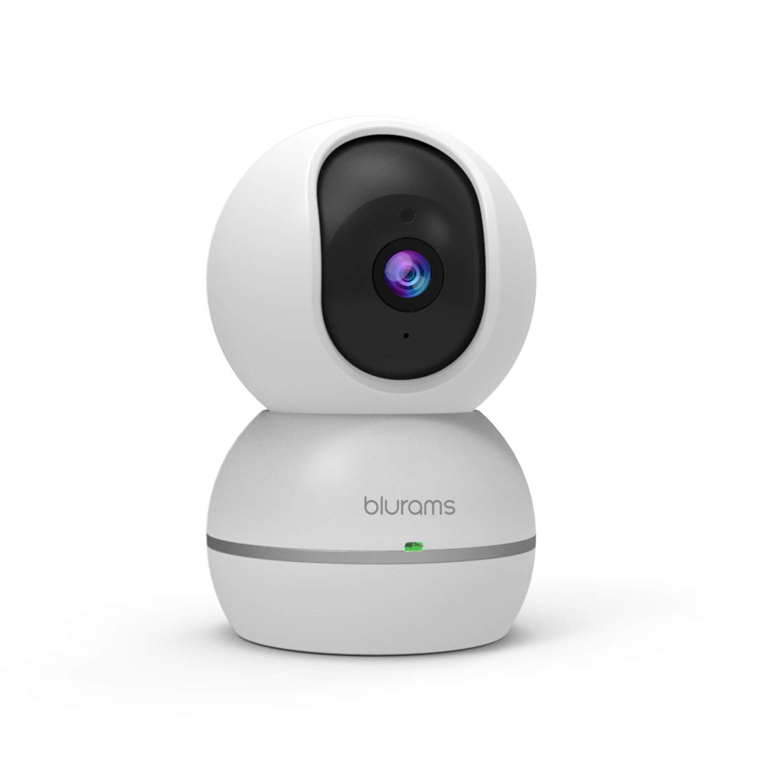 blurams 1080p Dome Security Camera | PTZ Surveillance System with Motion/Sound Detection, Smart AI Alerts, Privacy Mode, Night Vision, Two-Way Audio | Cloud/Local Storage Available | Works with Alexa by Blurams