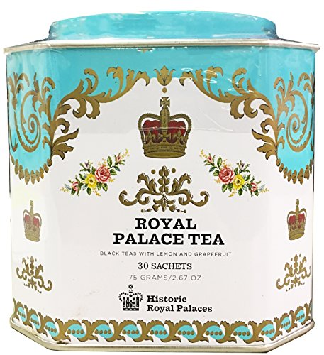 Harney & Sons Royal Palace Tea Tin - High Quality Blend of Black Teas, Great Present Idea - 30 Sachets, 2.67 Ounces