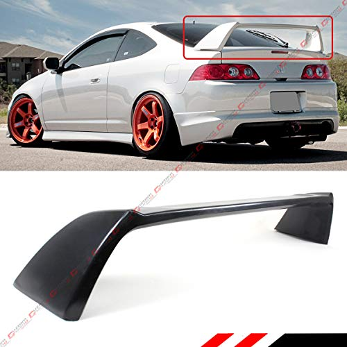 Cuztom Tuning Fits for 2002-2006 Acura RSX Integra DC5 Type R JDM Matt Black Rear Trunk Spoiler Wing Acura Rsx 2dr Wings