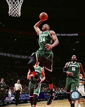 Size: 8 x 10 Giannis Antetokounmpo Milwaukee Bucks NBA PROFile Photo