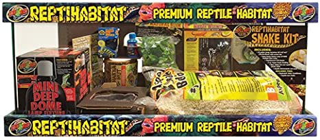 Amazon Com Zoo Med Laboratories Szmntb21 Reptihabitat 20 Long Beard Dragon Starter Kit Bearded Dragon Habitat Pet Supplies