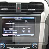 Red Hound Auto 2013-2018 Compatible with Ford Fusion MyFord Screen Savers 2pc Custom Fit Invisible High Clarity Touch Display Protector Minimizes Fingerprinting 8 Inch