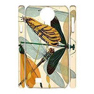 Beautiful Dragonfly Customized 3D Cover Case for SamSung Galaxy S4 I9500,custom phone case ygtg-310172