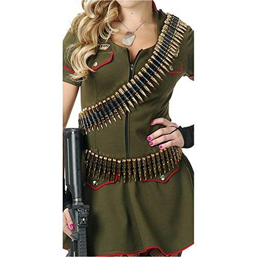 Bullet Belt Costume Accessory (Military Bullet Belt)