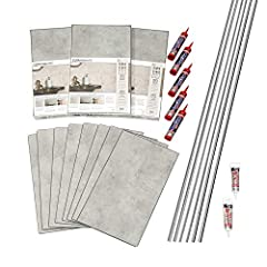 Easily Installed - No special tools are needed to install Dumawall's Interlocking Vinyl Wall Tile. Simply use the tube adhesive of your choice on the back of the panel and on the interlocking edges. Or you can use hidden nails driven into the...