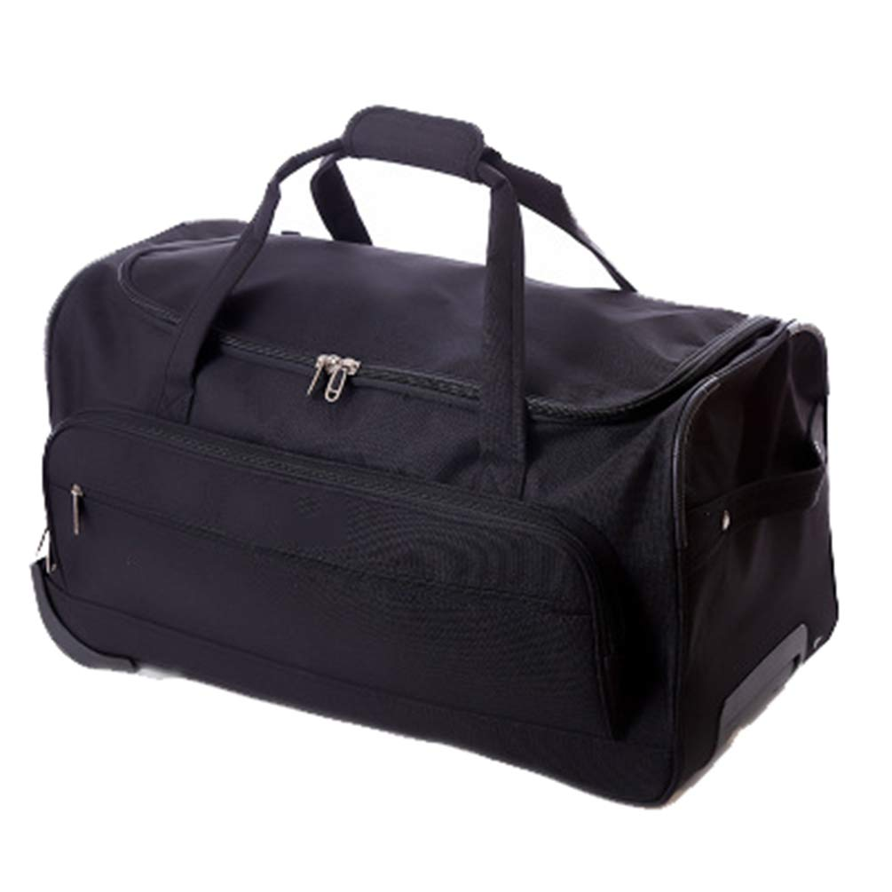 8d608fc0043d Amazon.com: YANJINGHONG Rolling Duffel Bag Foldable Trolley Leisure ...