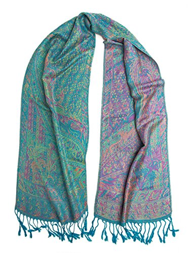 a basso prezzo 3cd3c 7641e Bohomonde Rajana Scarf, Pashmina Indian Paisley Traditional - Import It All