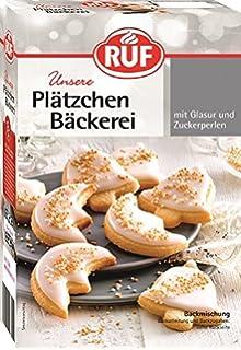 Weihnachtsplätzchen Glasur.Ruf Plätzchen Bäckerei Rote Glasur 470 G Amazon De Lebensmittel