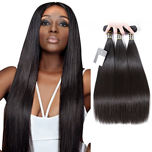 Straight Unprocessed Virgin Brazilian Hair 22''24''26'' by Puddinghair