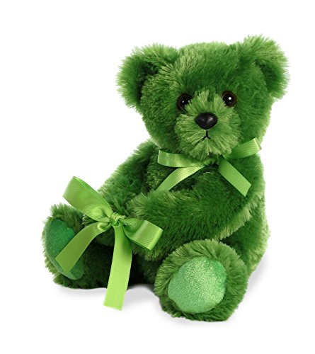 - Aurora World Plush Vase Hugger Jellybean Bear Plush Toy, Lime