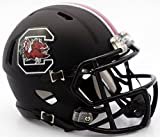South Carolina Gamecocks Riddell Speed Mini Football Helmet - Black Matte Shell