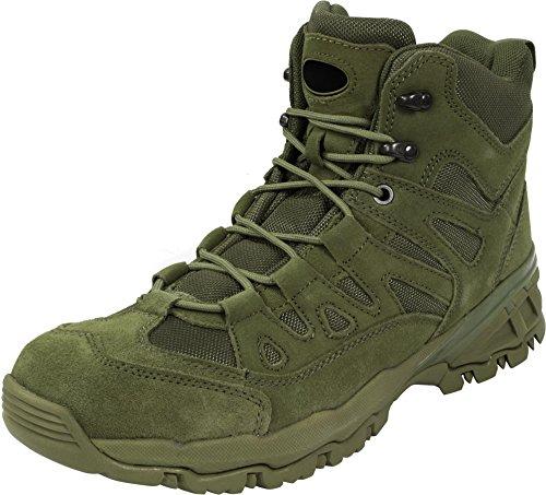 Trooper Trekking Stiefel mit Zehenkappe Oliv