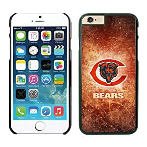 Chicago Bears iPhone 6 Plus(5.5inch) Cases Black Cover