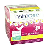 Natracare Ultra Extra Pads, Normal, 12 ea Pack of 2