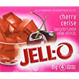 JELL-O Jelly Powder, Cherry, 24 Count, 2040g
