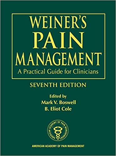 Weiner's pain management: a practical guide for clinicians crc.