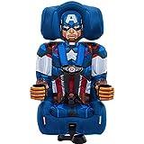 KidsEmbrace 2-in-1 Booster Car Seat, Marvel Avengers Captain America