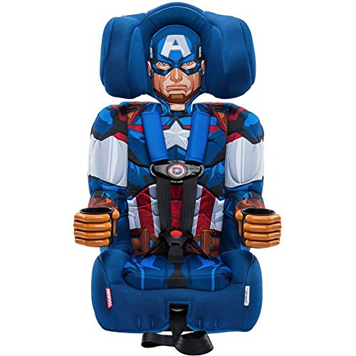 KidsEmbrace 2-in-1 Harness Booster Car Seat, Marvel Avengers