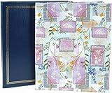 "Pioneer Post Bound Jumbo Album 11.75""X14"", Assorted Gold Embossed & Designer Prints"