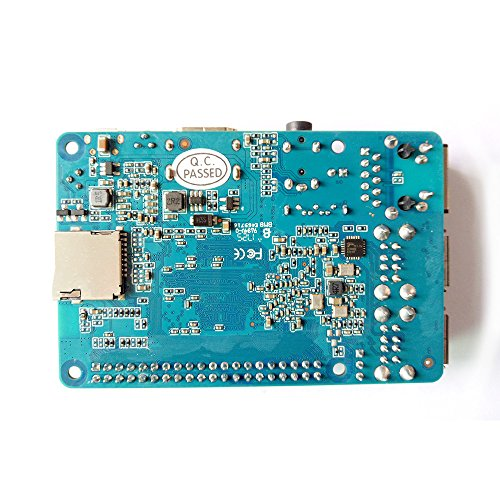 Banana Pi BPI M2 Berry Dual core Mali 400 MP2 GPU 1G LPDDR3 Open-source Development Board , Same Size as Raspberry Pi 3 by SmartFly Info (Image #3)