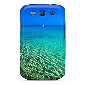 Brand New S3 Defender Case For Galaxy (clear Water Beach At Dusk)