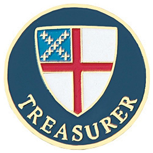 Episcopal Treasurer Pin ()