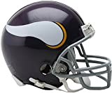 Sports Memorabilia Riddell Minnesota Vikings Throwback 1961-1979 VSR4 Mini Football Helmet - NFL Mini Helmets