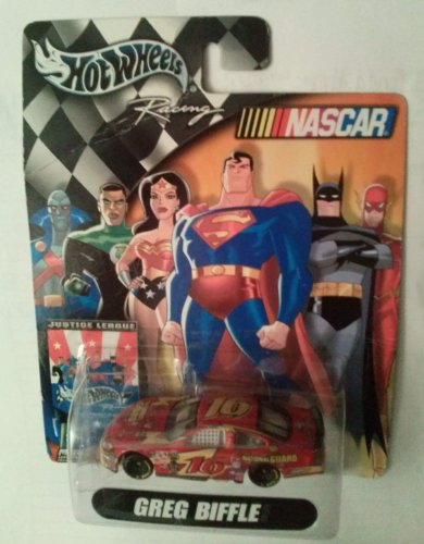 Hot Wheels Racing 1:64 Scale Greg Biffle #16 National Guard Ford Taurus Justice League the Flash Paint Job Nascar