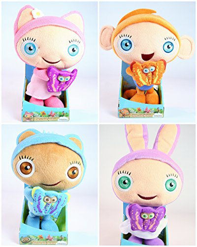 Waybuloo Set Of Four Lau Lau Yojojo Nok Tok De Li 9 Plush Soft Toys Buy Online In Martinique At Martinique Desertcart Com Productid 19722964